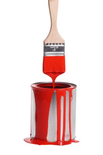 Spilling「Red paint dripping」:スマホ壁紙(2)