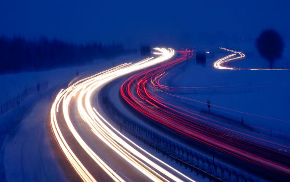 Highway「First Snow In Southern Germany」:写真・画像(17)[壁紙.com]