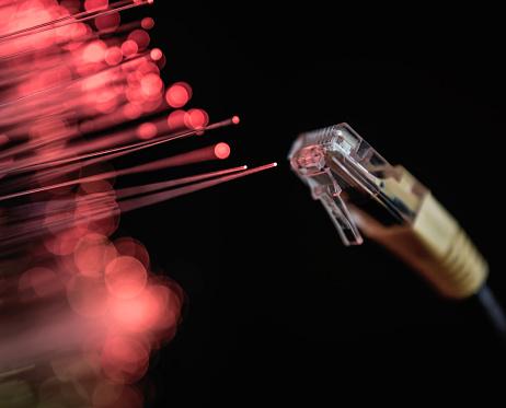 Fiber「Fibre Optic wires and Ethernet connector」:スマホ壁紙(7)
