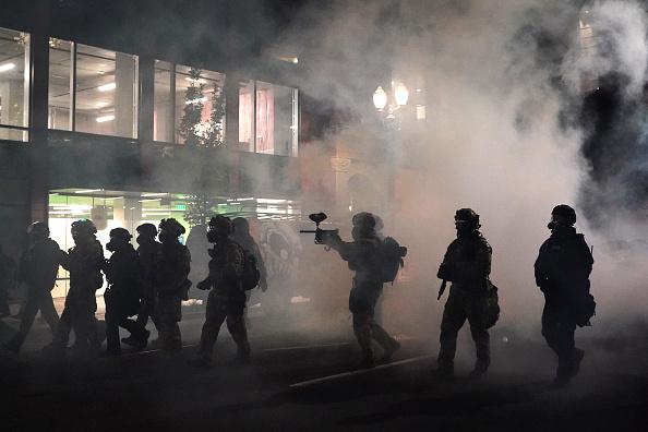 Oregon - US State「Feds Attempt To Intervene After Weeks Of Violent Protests In Portland」:写真・画像(1)[壁紙.com]