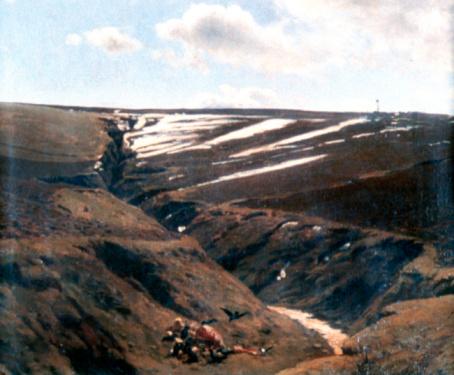 19th Century「'Thawing Snow', 19th century, painting」:スマホ壁紙(3)