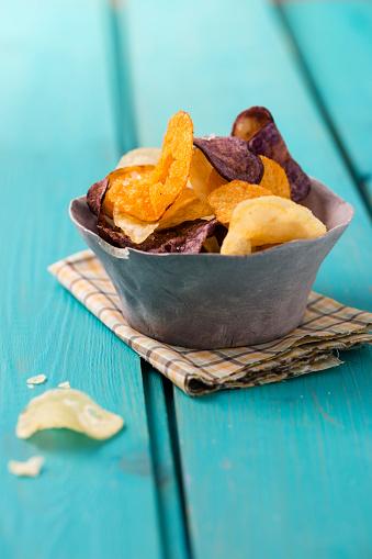 Peruvian Potato「Bowl with different sorts of potato chips」:スマホ壁紙(7)
