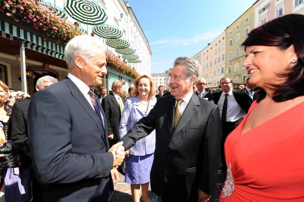 Transport Minister「Salzburg Festival - Opening Reception」:写真・画像(14)[壁紙.com]