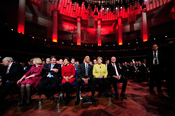 Entertainment Event「Obama Attends Hanover Trade Fair Opening Evening」:写真・画像(2)[壁紙.com]