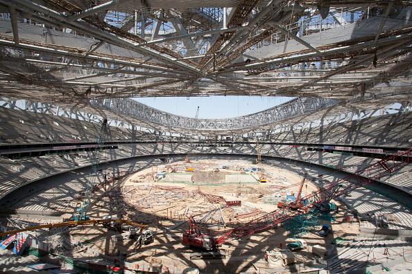 Finance and Economy「Beijing National Stadium during construction  China」:写真・画像(0)[壁紙.com]
