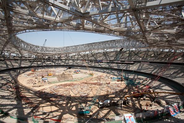 Finance and Economy「Beijing National Stadium during construction  China」:写真・画像(1)[壁紙.com]