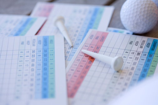 Northern Mariana Islands「Close Up Image of Golf Ball and Scorecard, Differential Focus」:スマホ壁紙(7)