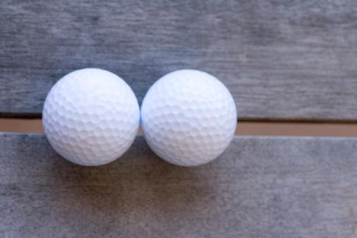 Northern Mariana Islands「Close Up Image of Two Golf Balls」:スマホ壁紙(13)