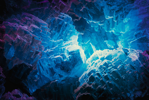 Crystal「Close up image of crystal」:スマホ壁紙(7)