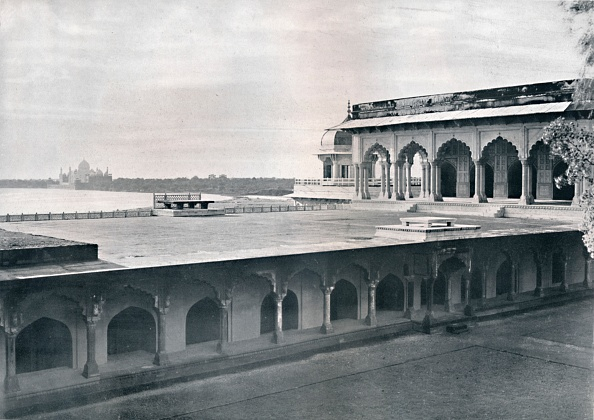 UNESCO「Agra The Dewan-I-Khas Showing The Taj」:写真・画像(19)[壁紙.com]