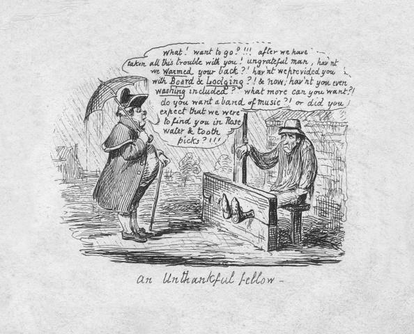 Cartoon「An Unthankful Fellow, 1829」:写真・画像(0)[壁紙.com]