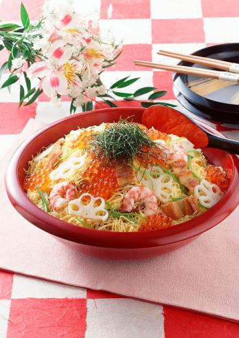 Hinamatsuri「Chirashi-sushi」:スマホ壁紙(17)