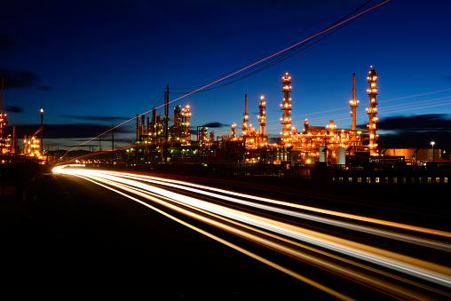 Oil Industry「Oil Refinery」:スマホ壁紙(12)