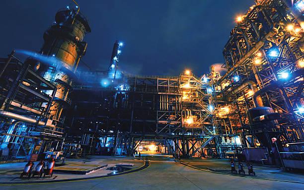 Oil Refinery, Chemical & Petrochemical plant:スマホ壁紙(壁紙.com)