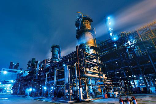 Long Exposure「Oil Refinery, Chemical & Petrochemical plant」:スマホ壁紙(8)