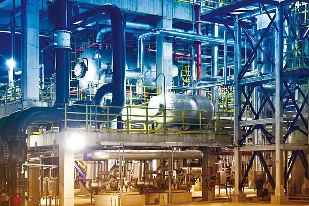 Oil Refinery, Petrochemical Plant Equipment:スマホ壁紙(壁紙.com)