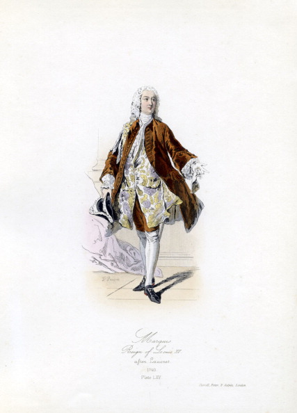 Males「A Marquis during the reign of Louis XV」:写真・画像(8)[壁紙.com]