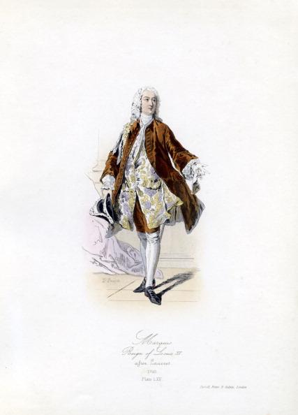 男「A Marquis during the reign of Louis XV」:写真・画像(5)[壁紙.com]