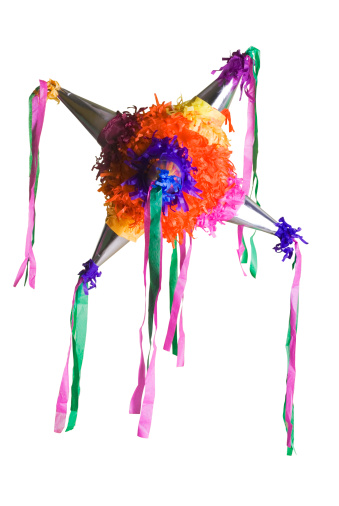 Paper Craft「colorful mexican piñata」:スマホ壁紙(9)