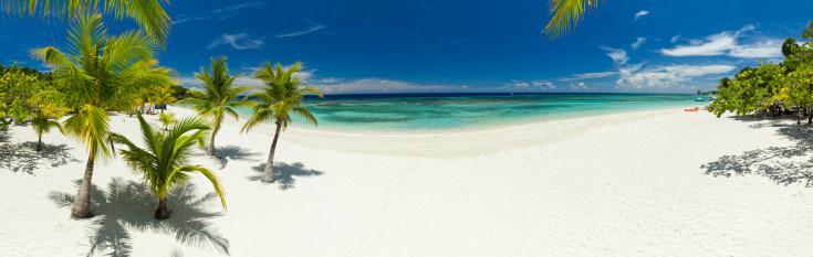 Honduras「Tropical beach panorama」:スマホ壁紙(8)