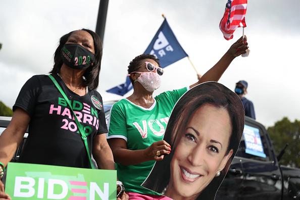 Florida International University「Democratic VP Candidate Kamala Harris Campaigns In South Florida」:写真・画像(10)[壁紙.com]
