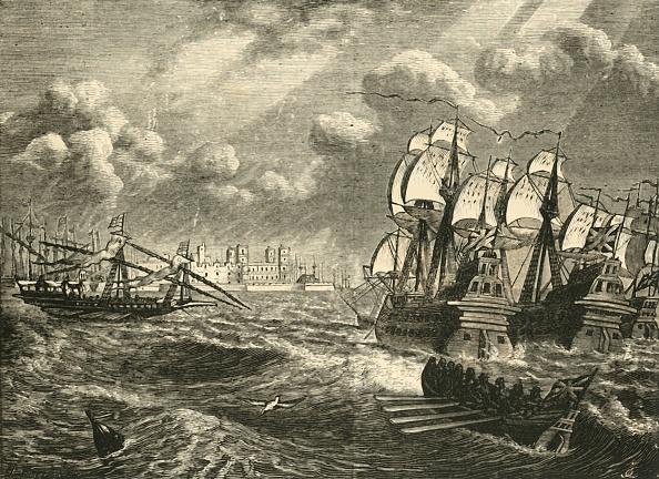 Effort「The English Fleet Before Cadiz」:写真・画像(1)[壁紙.com]