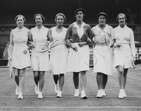 テニス「Wightman Cup Players」:写真・画像(15)[壁紙.com]