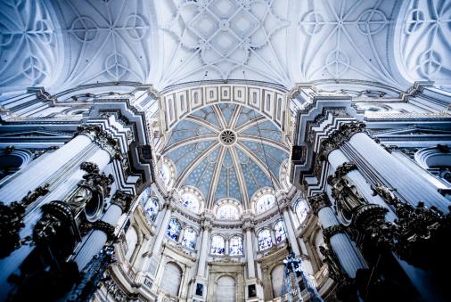 Baroque Style「Cathedral of Granada」:スマホ壁紙(13)