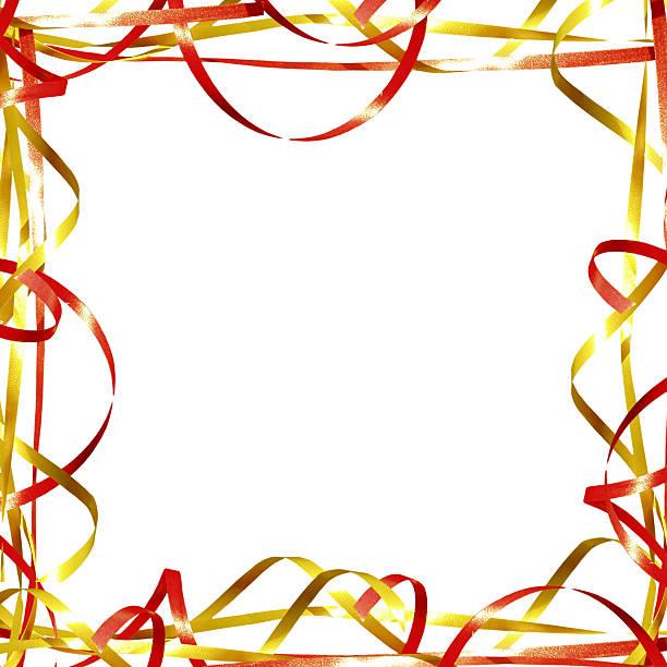 Squared ribbon frame / border:スマホ壁紙(壁紙.com)