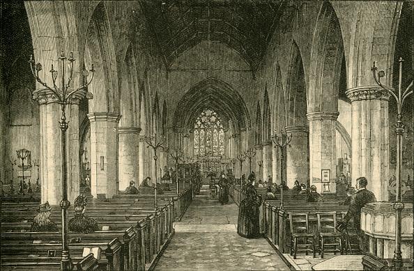 Bench「St Nicholas Church: The Nave」:写真・画像(16)[壁紙.com]