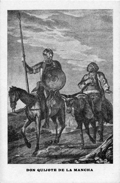 17th Century「Don Quixote and Sancho Panza」:写真・画像(10)[壁紙.com]