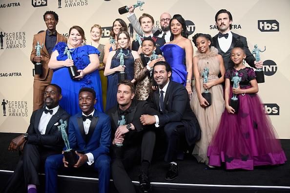 24th Screen Actors Guild Awards「24th Annual Screen Actors Guild Awards - Press Room」:写真・画像(2)[壁紙.com]