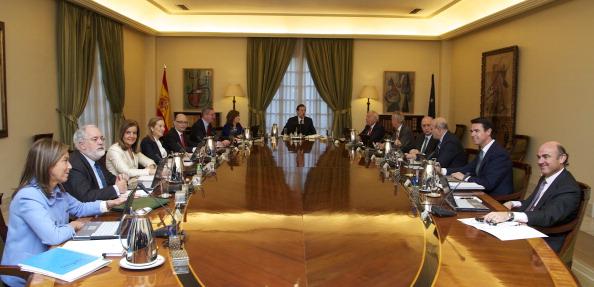 Alberto Ruiz Gallardón「Mariano Rajoy and New Ministerial Team at La Moncloa」:写真・画像(3)[壁紙.com]