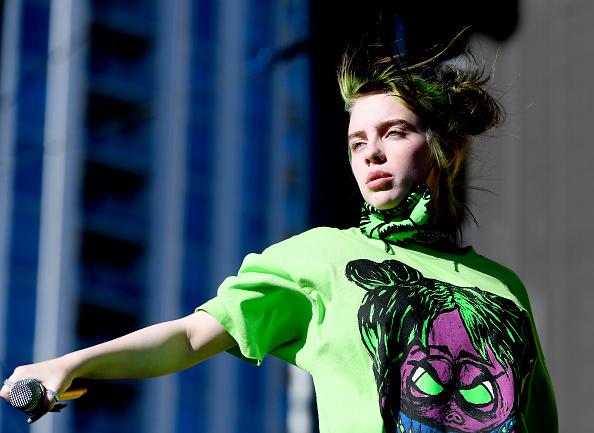 Billie Eilish「2019 iHeartRadio Music Festival And Daytime Stage」:写真・画像(5)[壁紙.com]