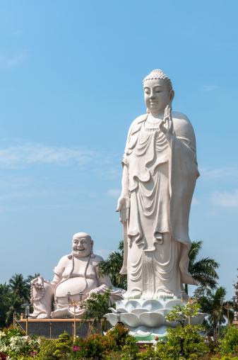 Buddha statue「座ったり、ベトナムの大仏」:スマホ壁紙(12)