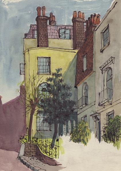 Row House「Houses In Hampstead」:写真・画像(7)[壁紙.com]