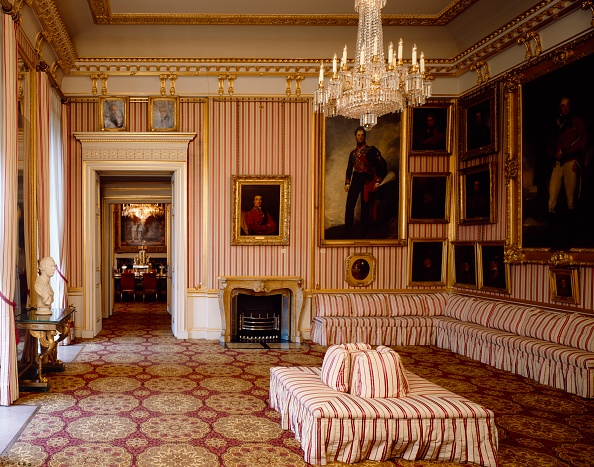 Home Decor「Striped Drawing Room, Apsley House, c1990-2010」:写真・画像(9)[壁紙.com]