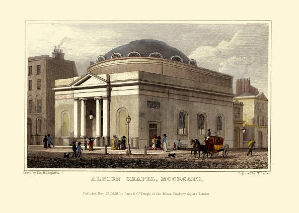 Regency Style「London Views:  Albion Chapel, Moorgate.」:写真・画像(17)[壁紙.com]
