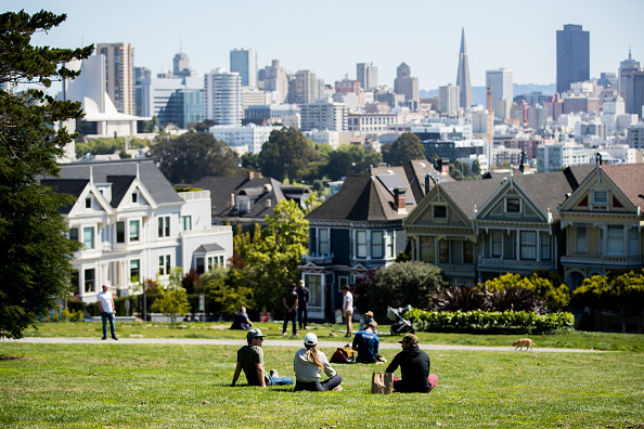 San Francisco - California「Daily Life In San Francisco Amid Coronavirus Outbreak」:写真・画像(7)[壁紙.com]