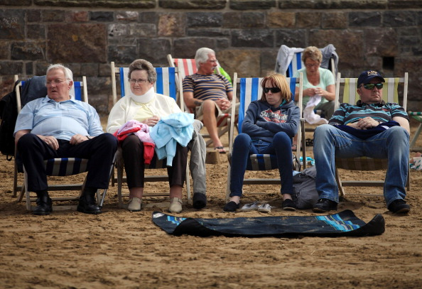 Weston-super-Mare「The Coldest Summer In Parts Of The UK For Nearly 20 Years」:写真・画像(9)[壁紙.com]