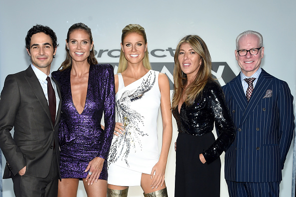 Television Show「Heidi Klum Meets Her Double: New Project Runway Experience Launches at Madame Tussauds New York」:写真・画像(2)[壁紙.com]
