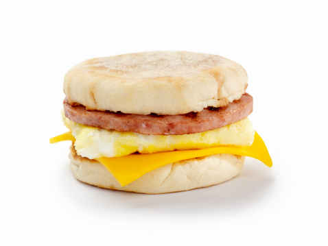 Toasted Food「Sausage and Egg Breakfast Sandwich」:スマホ壁紙(9)