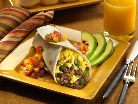 Juice - Drink「Sausage and Egg Breakfast Burrito」:スマホ壁紙(17)