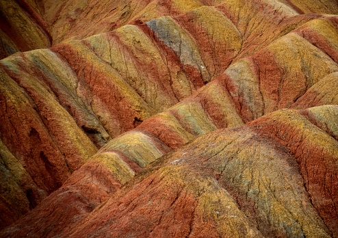 Beauty In Nature「中国、甘粛省張掖 Danxia 地形地質公園」:スマホ壁紙(9)