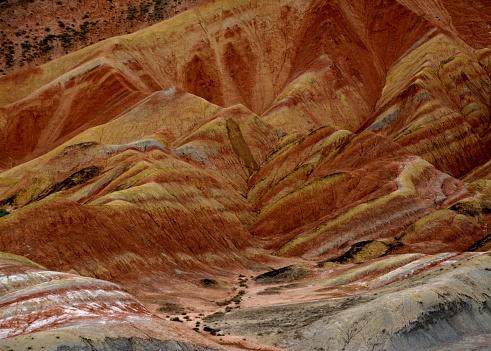 Beauty In Nature「中国、甘粛省張掖 Danxia 地形地質公園」:スマホ壁紙(8)