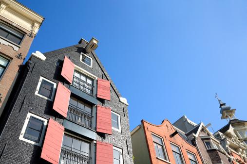 Amsterdam「Amsterdam houses」:スマホ壁紙(9)