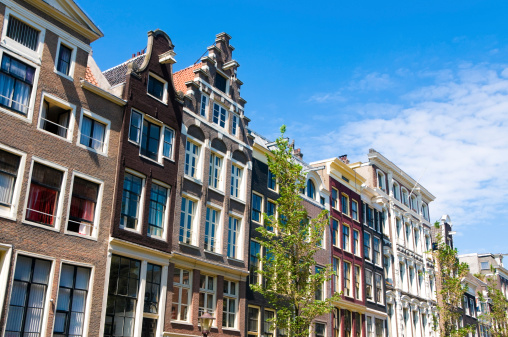 Canal House「Amsterdam Houses Typical Dutch Architecture」:スマホ壁紙(6)