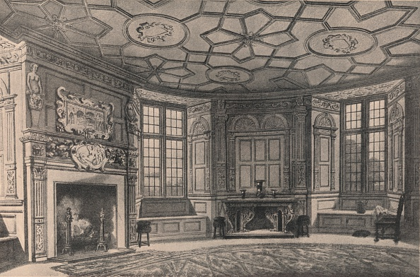 Dining Room「The circular dining-room, Longford Castle, Wiltshire, 1915.  Artist: Unknown.」:写真・画像(11)[壁紙.com]
