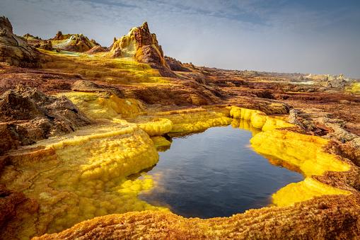 Sulphur「Sulfuric pool」:スマホ壁紙(6)