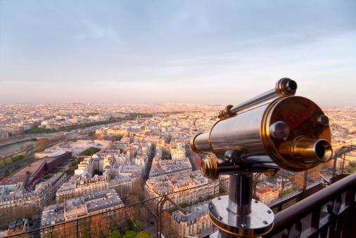 Hand-Held Telescope「Paris - Sightseeing Telescope」:スマホ壁紙(15)